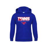 Youth Royal Fleece Hoodie-Tennis Design