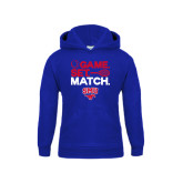 Youth Royal Fleece Hoodie-Game Set Match