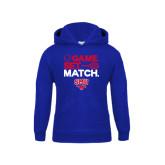Youth Royal Fleece Hoodie-Game Set Match