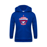Youth Royal Fleece Hoodie-2017 AAC Conference Champions - Mens Basketball Arched Shadow