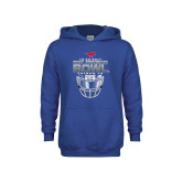 Youth Royal Fleece Hoodie-2017 Frisco Bowl - Football