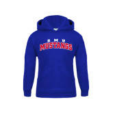 Youth Royal Fleece Hoodie-Arched SMU Mustangs