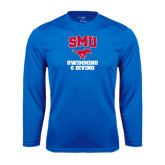 Performance Royal Longsleeve Shirt-Swimming and Diving