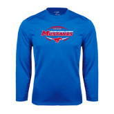 Syntrel Performance Royal Longsleeve Shirt-Mustangs in Football