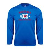 Performance Royal Longsleeve Shirt-Cross Country Design