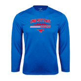 Syntrel Performance Royal Longsleeve Shirt-Rowing Profile Design