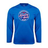 Syntrel Performance Royal Longsleeve Shirt-Swim and Dive Design