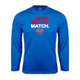 Performance Royal Longsleeve Shirt-Game Set Match