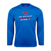 Syntrel Performance Royal Longsleeve Shirt-Can You Dig It