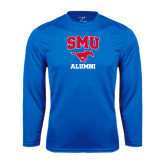 Performance Royal Longsleeve Shirt-Alumni