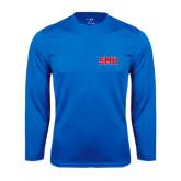 Syntrel Performance Royal Longsleeve Shirt-Block SMU