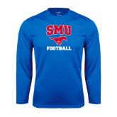 Syntrel Performance Royal Longsleeve Shirt-Football
