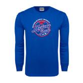 Royal Long Sleeve T Shirt-Mustang Pride