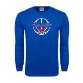 Royal Long Sleeve T Shirt-Mustang in Basketball
