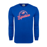 Royal Long Sleeve T Shirt-Script Equestrian