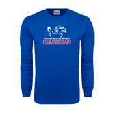 Royal Long Sleeve T Shirt-Equestrian Design
