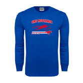 Royal Long Sleeve T Shirt-Rowing Design