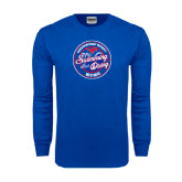 Royal Long Sleeve T Shirt-Swim and Dive Design