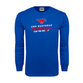 Royal Long Sleeve T Shirt-Can You Dig It