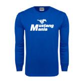 Royal Long Sleeve T Shirt-Mustang Mania