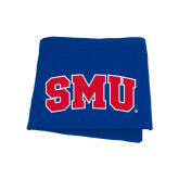 Royal Sweatshirt Blanket-Block SMU