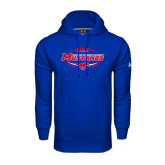 Under Armour Royal Performance Sweats Team Hood-Mustangs in Football