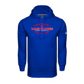 Under Armour Royal Performance Sweats Team Hood-Athletic Mustangs in Football