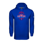 Under Armour Royal Performance Sweats Team Hood-Tall Football Design