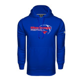 Under Armour Royal Performance Sweats Team Hoodie-Football Outline Design