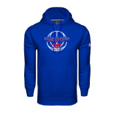 Under Armour Royal Performance Sweats Team Hoodie-Mustang in Basketball