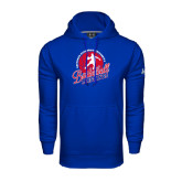 Under Armour Royal Performance Sweats Team Hoodie-Player on Basketball Design