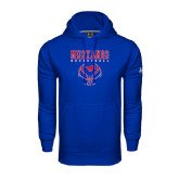 Under Armour Royal Performance Sweats Team Hoodie-Stacked Basketball Design