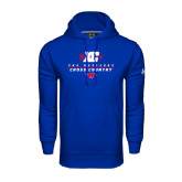 Under Armour Royal Performance Sweats Team Hood-Stacked Cross Country Design