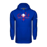 Under Armour Royal Performance Sweats Team Hoodie-Stacked Golf Design