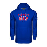 Under Armour Royal Performance Sweats Team Hood-Tee Off Design