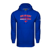 Under Armour Royal Performance Sweats Team Hoodie-Rowing Profile Design