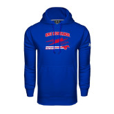 Under Armour Royal Performance Sweats Team Hood-Rowing Design