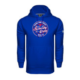 Under Armour Royal Performance Sweats Team Hoodie-Swim and Dive Design