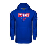 Under Armour Royal Performance Sweats Team Hoodie-Tennis Design