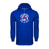 Under Armour Royal Performance Sweats Team Hood-Mustang on Volleyball
