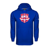 Under Armour Royal Performance Sweats Team Hoodie-A Century of SMU Athletics
