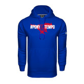 Under Armour Royal Performance Sweats Team Hood-#PonyUpTempo Flat