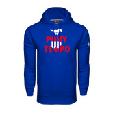 Under Armour Royal Performance Sweats Team Hood-Pony Up Tempo Stacked