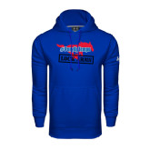 Under Armour Royal Performance Sweats Team Hood-#PonyUpTempo Lock Arms
