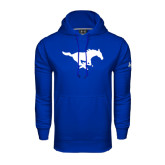 Under Armour Royal Performance Sweats Team Hood-Official Logo