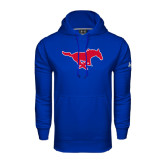 Under Armour Royal Performance Sweats Team Hood-Official Outlined Logo