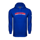 Under Armour Royal Performance Sweats Team Hoodie-Arched Mustangs