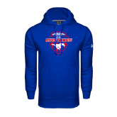 Under Armour Royal Performance Sweats Team Hood-Mustangs in Shield