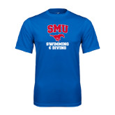 Performance Royal Tee-Swimming and Diving