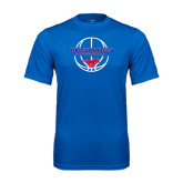 Performance Royal Tee-Mustang in Basketball